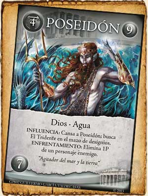 Mitología Griega - Poseidón en Guerra de Mitos