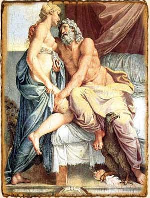 Mitología Griega - Zeus y Hera