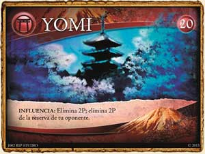 Panteón Yomi en Guerra de Mitos