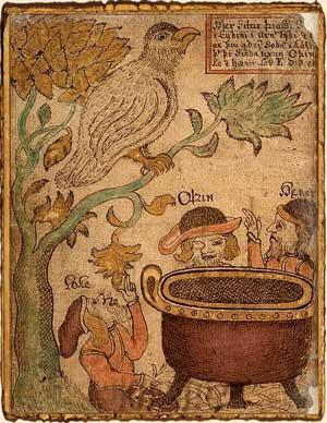 Mitología nórdica, leyenda de Idun diosa de la juventud