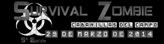 Logo Survival Zombie Cabanillas del Campo
