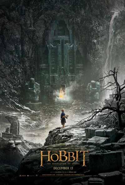 Cartel El Hobbit: la Desolacion de Smaug