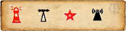 Símbolos Cartográficos Faros