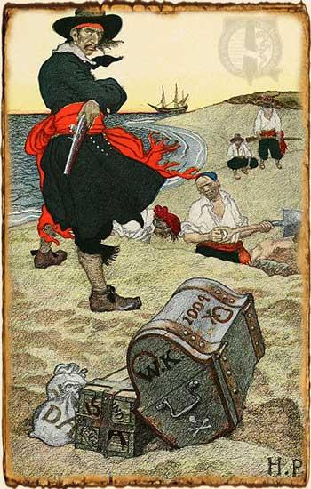 Los 7 tesoros del verano - Tesoro pirata