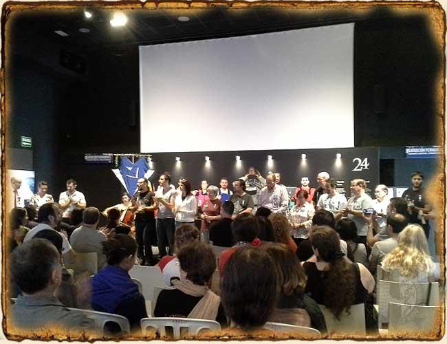 Acto de clausura Estelcon 2015 - Sociedad Tolkien Española