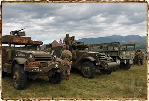 Airborne Revival 2014 - Vehículos aliados WWII
