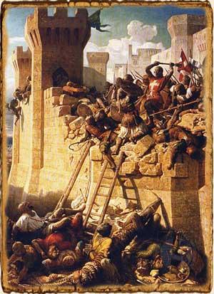 Relatos de Fantasía - Asedio al castillo