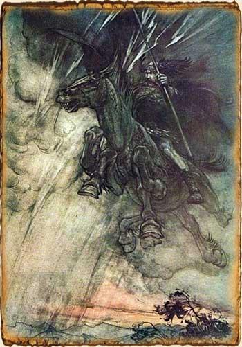 Relatos de Fantasía - Sleipnir
