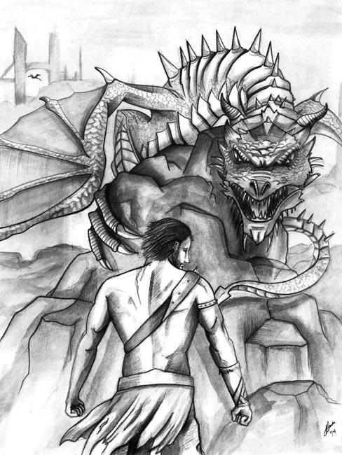 Ilustraciones de Fantasía - El plan de Bakara - Dragones
