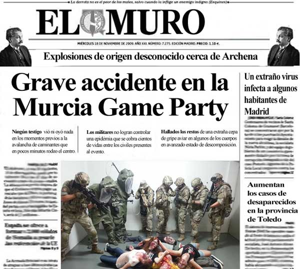 Survival Zombie - Militares y Zombies en la Murcia Game Party