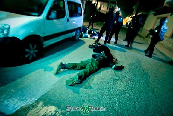 Survival Zombie - Coche muerto