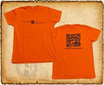 Anverso y Reverso de la camiseta de Tierra Quebrada