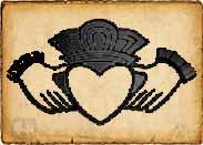 Claddagh simbolo celta
