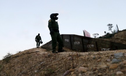 Controles fronterizos. Foto AP