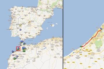 """Camping """"Skhiart Plage"""" - Rabat (30Km)"""