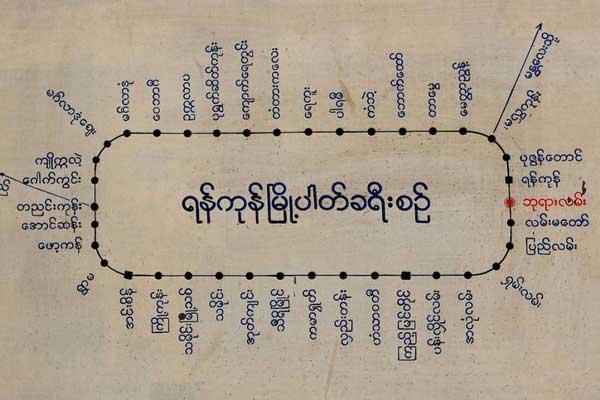 trenes en myanmar