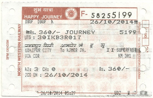 general_ticket_india