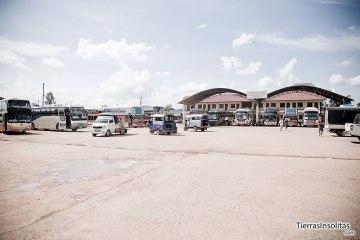 estaciones de autobuses en laos