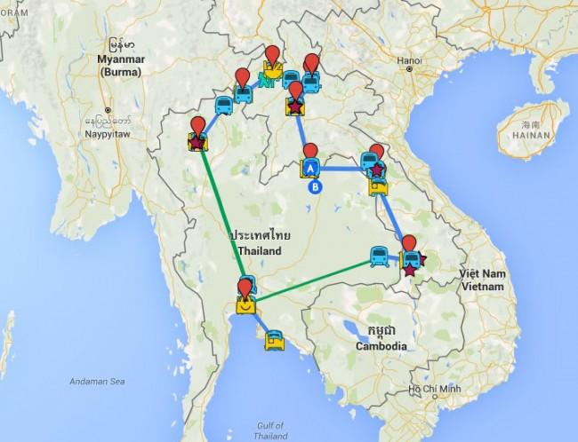 guia-de-laos-mapa