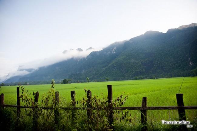 paisaje de tham kong lo