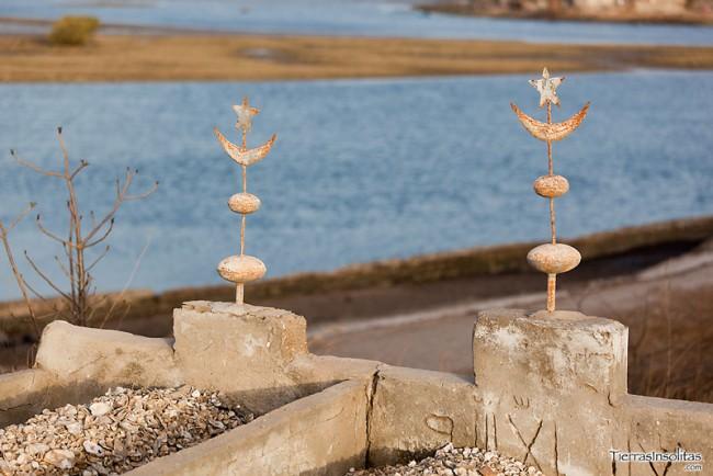 cementerio de conchas joal fadiouth senegal
