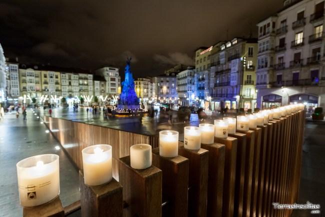 noche de las velas virgen blanca