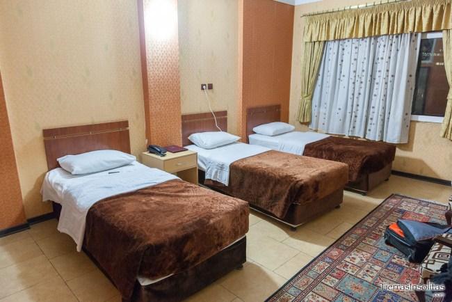hotel arman en teherán