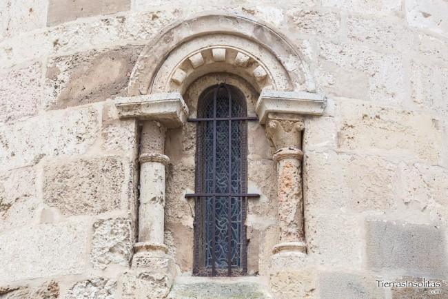 ventanal ábside