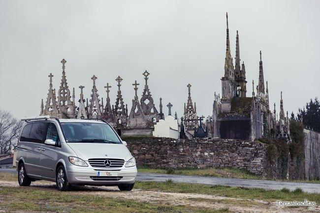 cementerio gótico román terra chá galicia