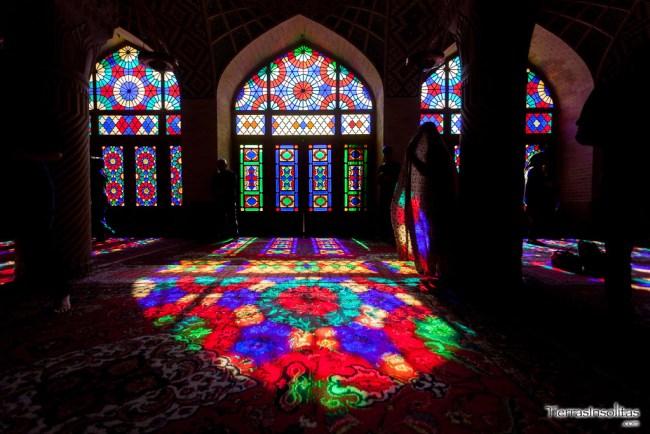 masjed-e nasir-al molk mezquita rosa
