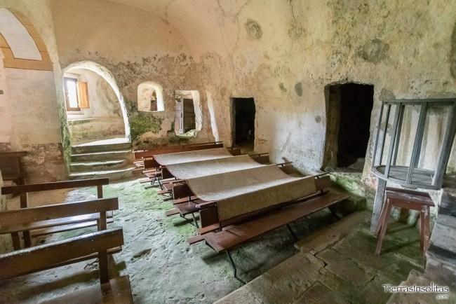 nave principal iglesia inferior