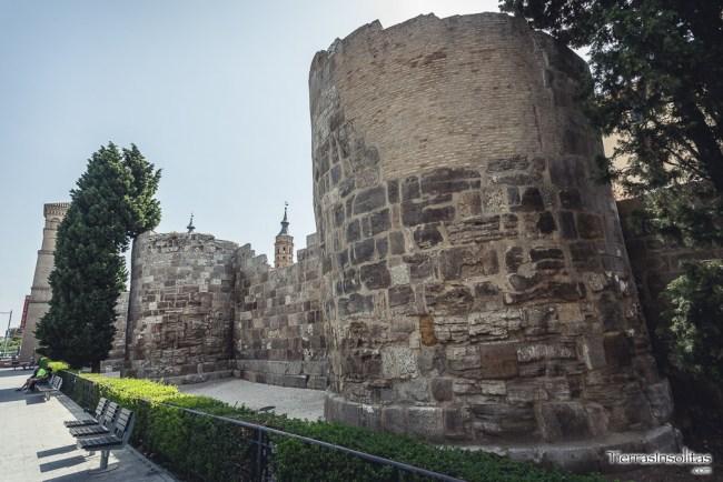 murallas romanas en zaragoza