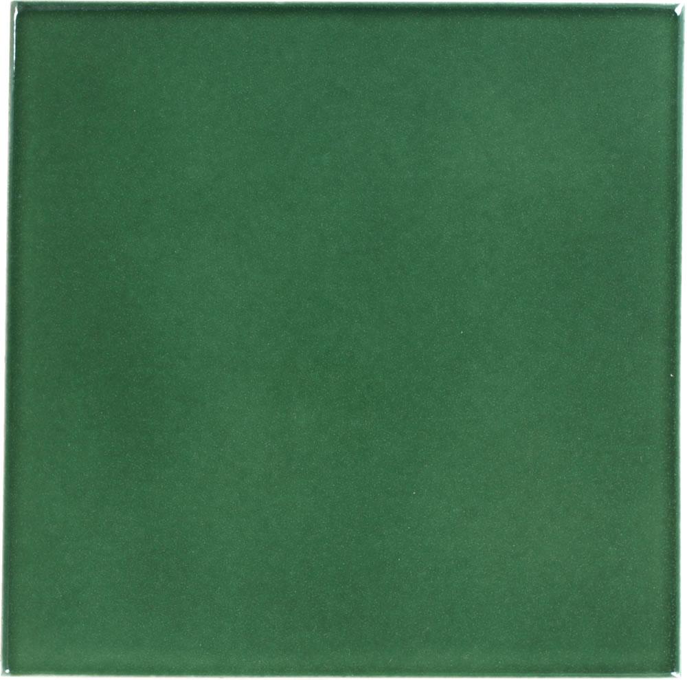 hunter green sevilla handcrafted ceramic floor tile
