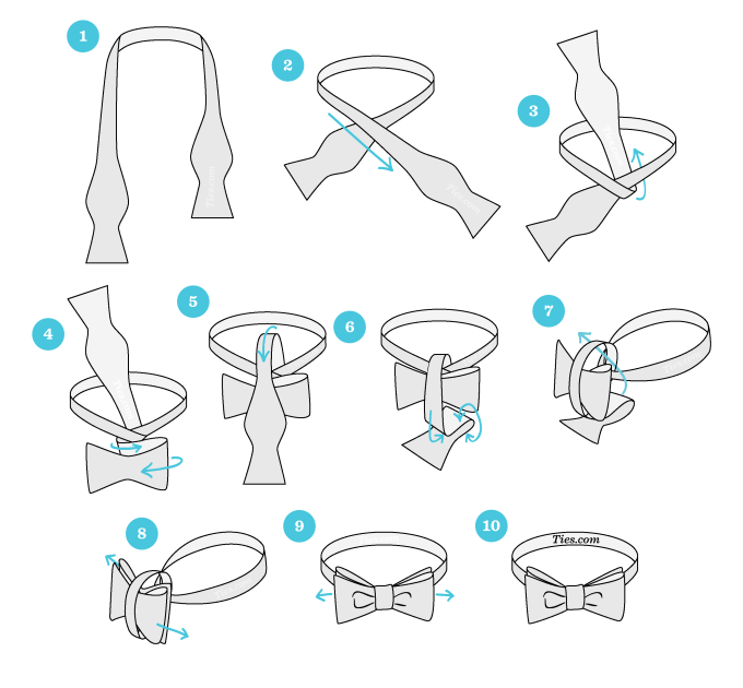 How To Tie A Bow Directions Anexa Tutorial