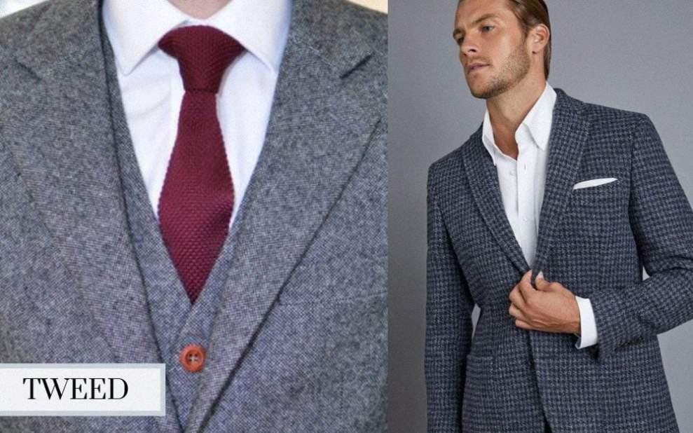 winter suit tweed suit