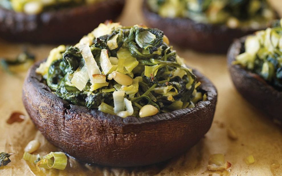 easy appetizers stuffed mushrooms