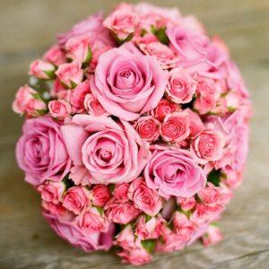 Hochzeitsblumen: Rosen