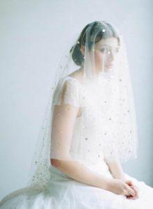Der Taillen-Brautschleier