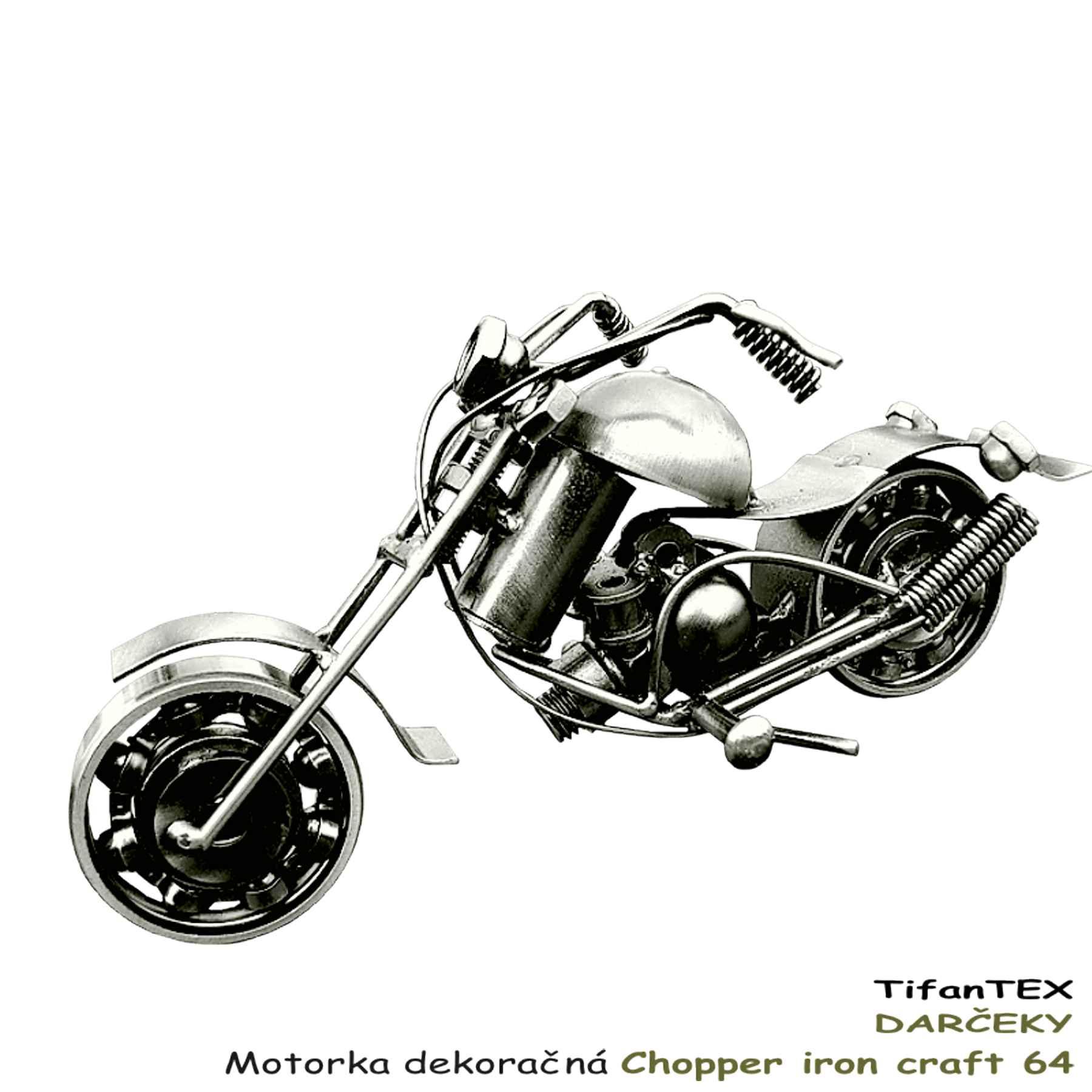 Motorka Dekora Na Chopper Iron Craft 64