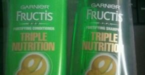 [Review] Garnier Fructis Sleek and Shine