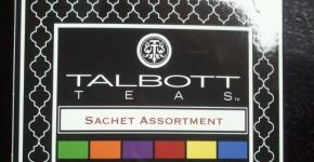 [Review] Talbott Teas