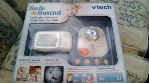 Safe&Sound Full Color Video and Audio Monitor