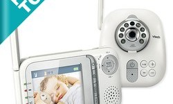 Vtech Safe&Sound Full Color Video and Audio Monitor Review & Giveaway