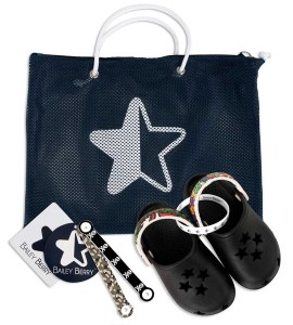Black BB STARS Kids' Shoes