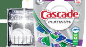 Cascade Platinum Dishwasher Soap Review & Giveaway