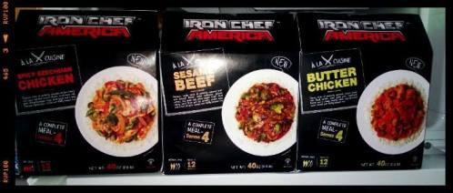 Iron Chef Frozen meals