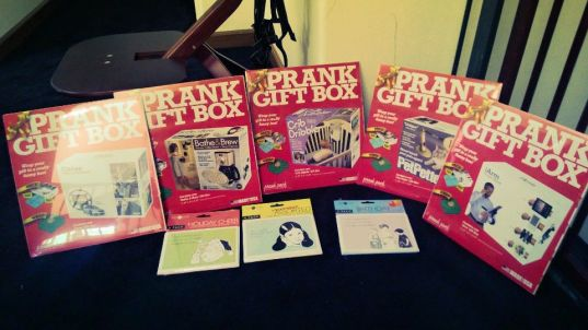 Prank boxes & cards