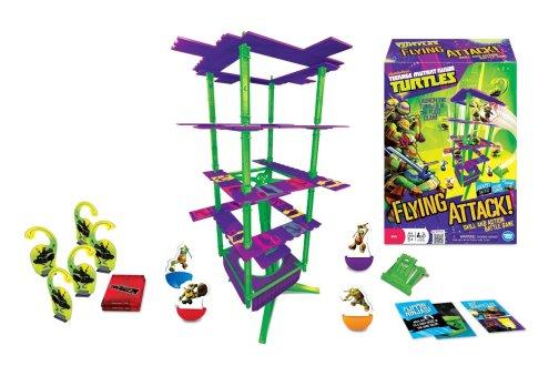Teenage Mutant Ninja Turtles Flying Attack Board Game