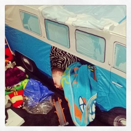 VW Camper Van Play Tent (Blue)