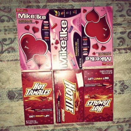 Valentines Mike & Ike